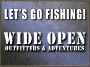 Wide Open Outfitter Lets Go Fishing ICON