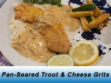 Seared Trout and Grits Icon